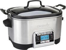 Crock-Pot - Slowcooker 5,6 L Rustfri Multifunksjonell