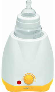Clatronic BKW 3615 Baby Flaskevarmer Hvid Gul 1 stk