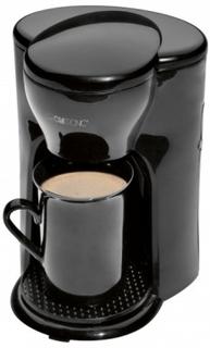 Clatronic KA 3356 Liten Kaffebryggare Svart 1 st