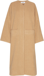 Rodebjer Nusa Outerwear Coats Wool Coats Beige RODEBJER
