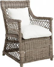 SPAIN Dining armchair, Seatcushion in fabric from cat 4