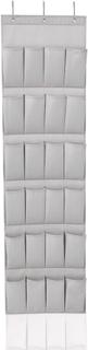 Leifheit Hengende skohylle med 24 lommer grå 47,5x5x165,8 cm 80016