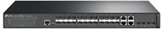 TP-Link JetStream T2600G-28SQ - switch - 28 porte - Administreret - monterbar på stativ