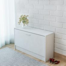 vidaXL Kenkien Varastokaappi Valkoinen 80x24x45 cm