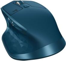 MX Master 2S Wireless Mouse - Midnight Teal - Mouse - Laser - 7 knappar - Blå