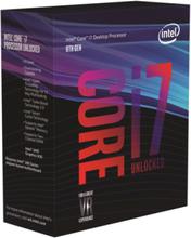 Core i7-8700K Coffee Lake CPU - 6 kärnor 3,7 GHz - LGA1151 - Boxed