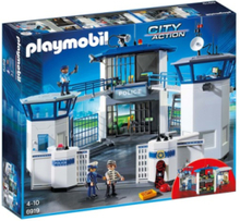 - City Action - Police Headquarters with Prison - 6919