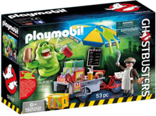 Ghostbusters - 9222 Slimer with Hot Dog Stand