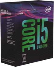 Core i5-8600K Coffee Lake CPU - 6 kärnor 3,6 GHz - LGA1151 - Boxed