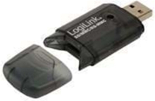 USB-kortläsare SD / MMC Svart