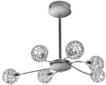 Salvador Ceiling Lamp 6x28W - Chrome Hängen