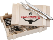 Steak Knives And Forks - 12 pcs
