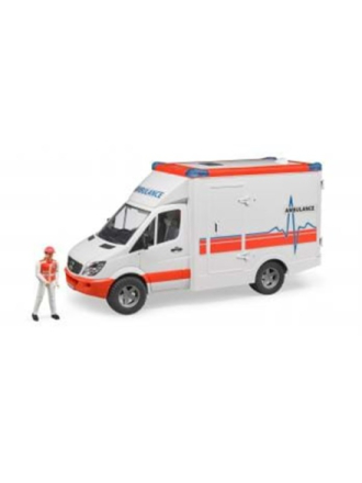 02536 - MB Sprinter Ambulance with driver
