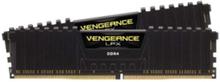 Vengeance LPX DDR4-3000 C15 BK DC - 8GB