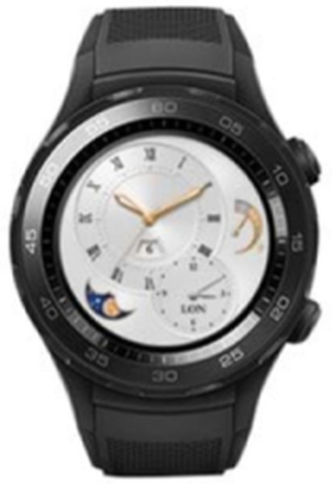 Watch 2 Sports 4G - Black Carbon