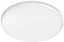 Twirly 27K ceiling lamp white 1x17W 240V Ceiling lamp