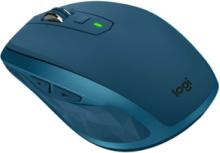 MX Anywhere 2S Wireless Mouse - Midnight Teal - Mouse - Laser - 7 knappar - Blå