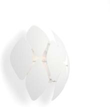 Chiffon Wall Lamp 60W - White