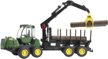 Forwarder with 4 trunks and grab