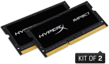 HyperX Impact DDR3-1600 C9 DC - 16GB