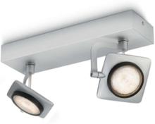MILLENNIUM bar/tube aluminium 2x4.5W SEL Spot Skinner