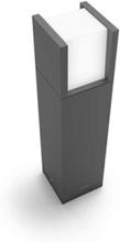 Arbour pedestal anthracite 1x6W