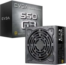 SuperNOVA 550 G3 Strömförsörjning - 550 Watt - 130 mm - 80 Plus Gold certificate