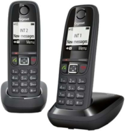 Gigaset AS405 Duo - trådlös telefon med