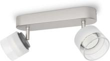 Fremont bar/tube nickel 2x4W 230V Spot Skinner