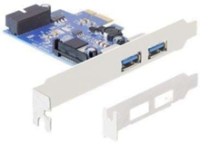 PCI Express Card > 2 x external USB 3.0 + 1 x internal 19 pin USB 3.0