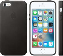 iPhone 5/5S/SE Leather Case - Black