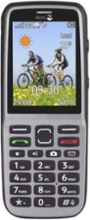 PhoneEasy 530X - silver - 3G GSM - mobil