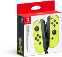 Joy-Con Controllers (Pair) Neon Yellow - Gamepad - Switch