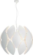 Chiffon pendant white 1x60W 230V