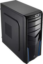 V2X Advance - Blue - Chassi - Miditower - Svart