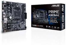 PRIME A320M-K Moderkort - AMD A320 - AMD AM4 socket - DDR4 RAM - Micro-ATX