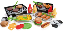 MY LITTLE BBQ DELUXE 79 PCS. IN BROWN BOX