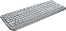 Wired Keyboard 600 - Tastatur - Engelsk - Hvit