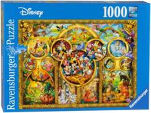 Most beautiful Disney themes 1000pcs.