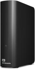 Elements Desktop BWLG0040HBK - hård - Extern Hårddisk - 4 TB - Svart