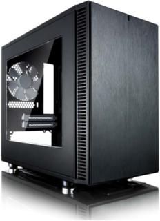 Define Nano S Window - Kabinett - Minitower - Svart