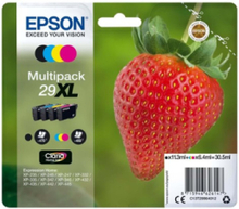 29XL Multipack - Bläckpatron Svart