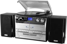 MCD 4500 Platespiller - Sølv