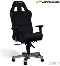 Office Seat - Alcantara Krzes?o - Czarny - Alkantara - Do 120 kg