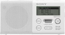 Bærbar radio XDR-P1DBP - DAB/DAB+/FM - Mono - Hvit