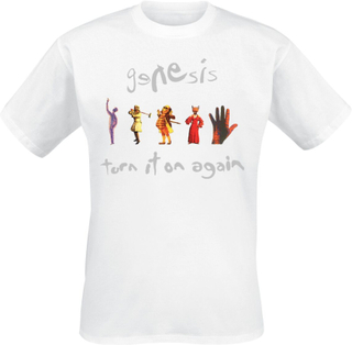 Genesis - Turn It On Again - T-shirt - vit