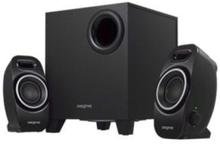 A250 - högtalarsystem - För PC - kabelan - 2.1-kanals - Black