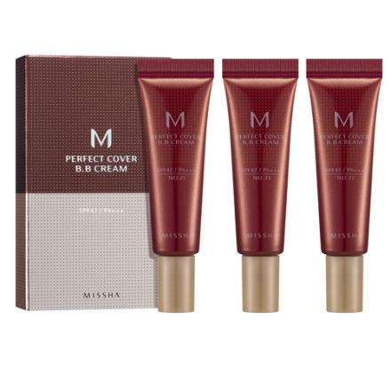 MISSHA M Perfect Cover BB Cream Trial Kit A