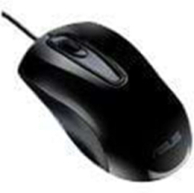 UT200 - Wired Mouse - Black - Mus - Optisk - Svart