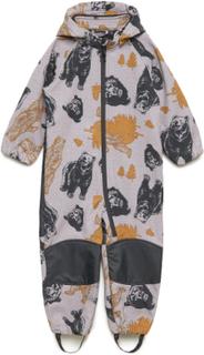 Nmmalfa Suit Bear 1fo Parkdress Til Barn Multi/mønstret Name It